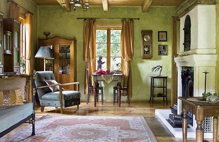 adelaparvu.com despre casa la tara transformata in pensiune, casa rustica Polonia, Foto Rafal Lipski Weranda Country (1)