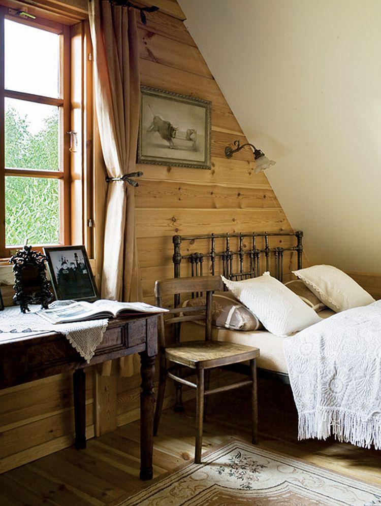 adelaparvu.com despre casa la tara transformata in pensiune, casa rustica Polonia, Foto Rafal Lipski Weranda Country (11)