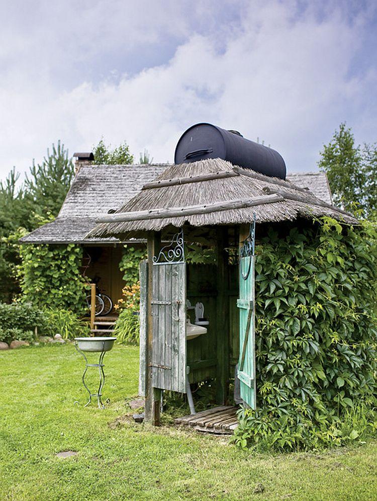 adelaparvu.com despre casa la tara transformata in pensiune, casa rustica Polonia, Foto Rafal Lipski Weranda Country (13)