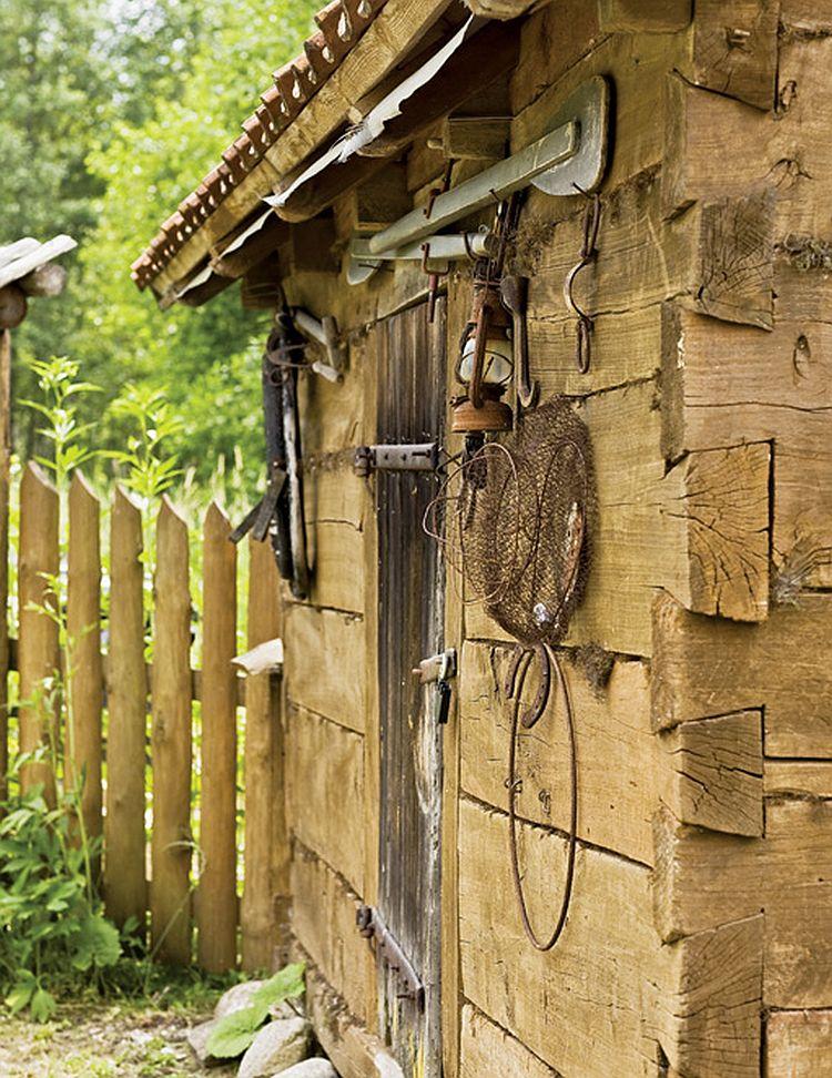 adelaparvu.com despre casa la tara transformata in pensiune, casa rustica Polonia, Foto Rafal Lipski Weranda Country (15)