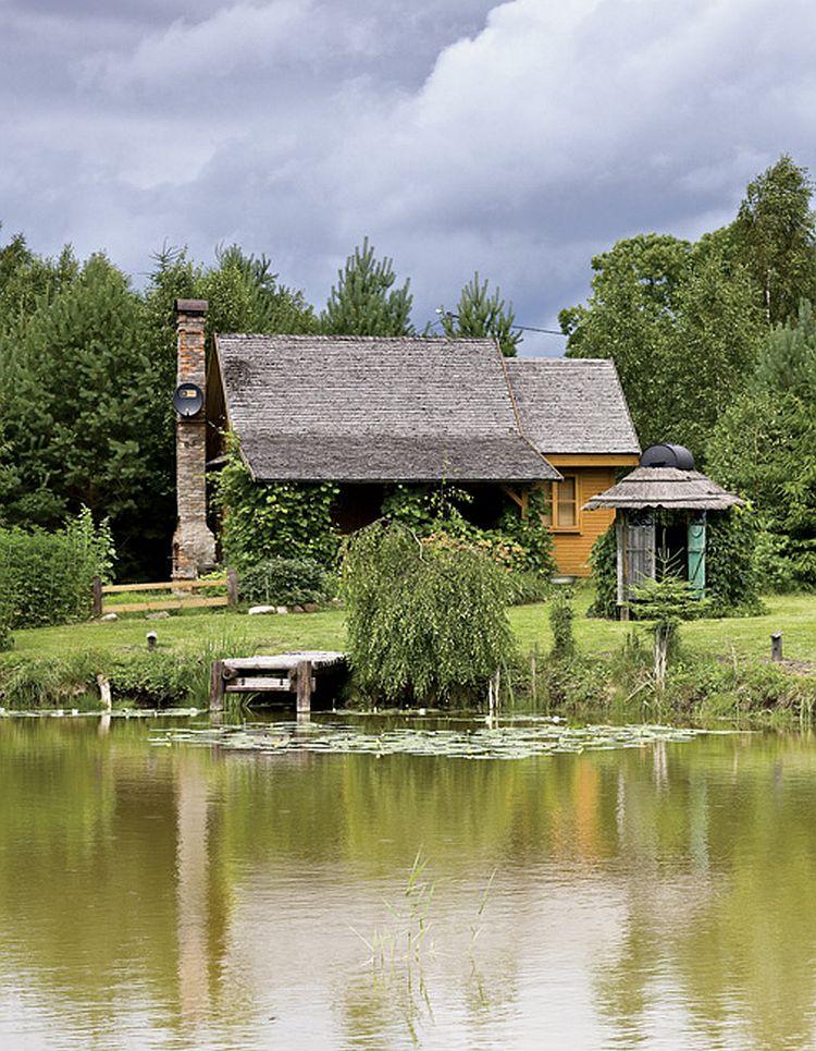 adelaparvu.com despre casa la tara transformata in pensiune, casa rustica Polonia, Foto Rafal Lipski Weranda Country (3)