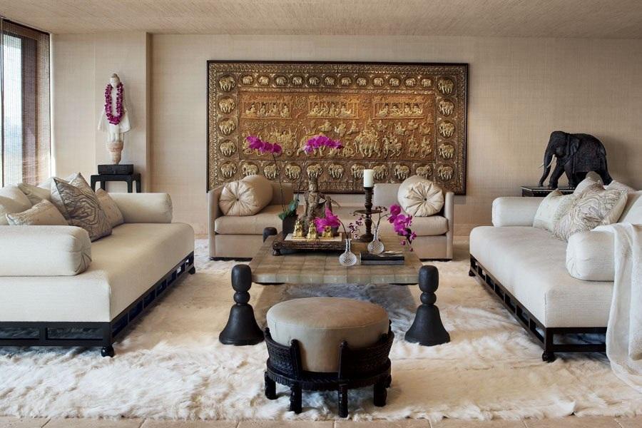 adelaparvu.com despre casa lui Cher din Los Angeles, designer Martin Lawrence Bullard Foto AD (5)