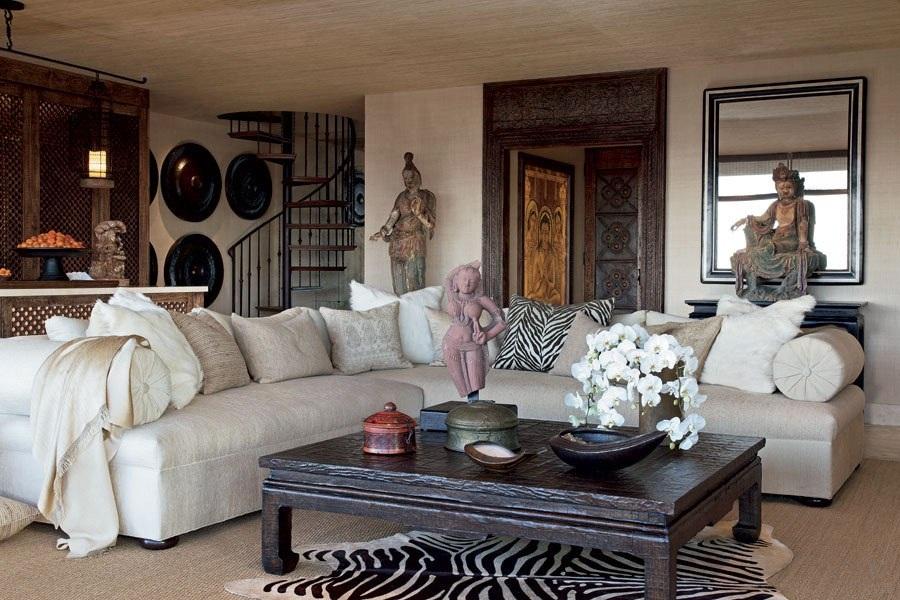 adelaparvu.com despre casa lui Cher din Los Angeles, designer Martin Lawrence Bullard Foto AD (6)
