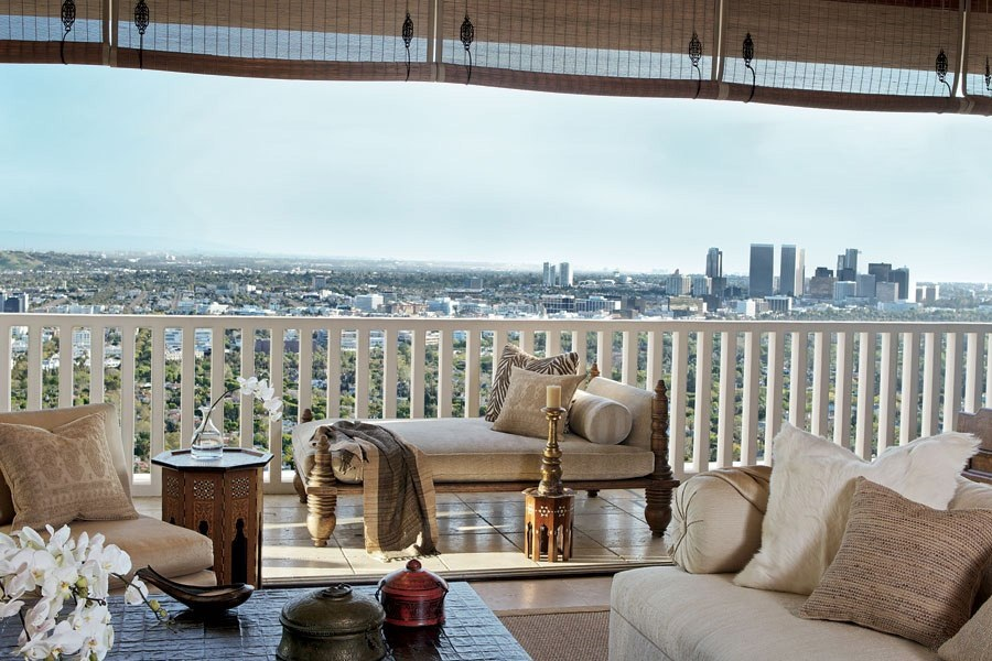 adelaparvu.com despre casa lui Cher din Los Angeles, designer Martin Lawrence Bullard Foto AD (7)