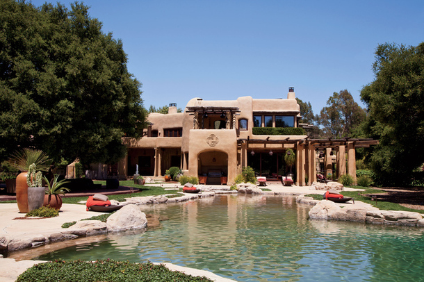 adelaparvu.com despre casa organica, proprietari Will Smith si Jada Pinkett Smith, Foto Roger Davis Architectural Digest (4)