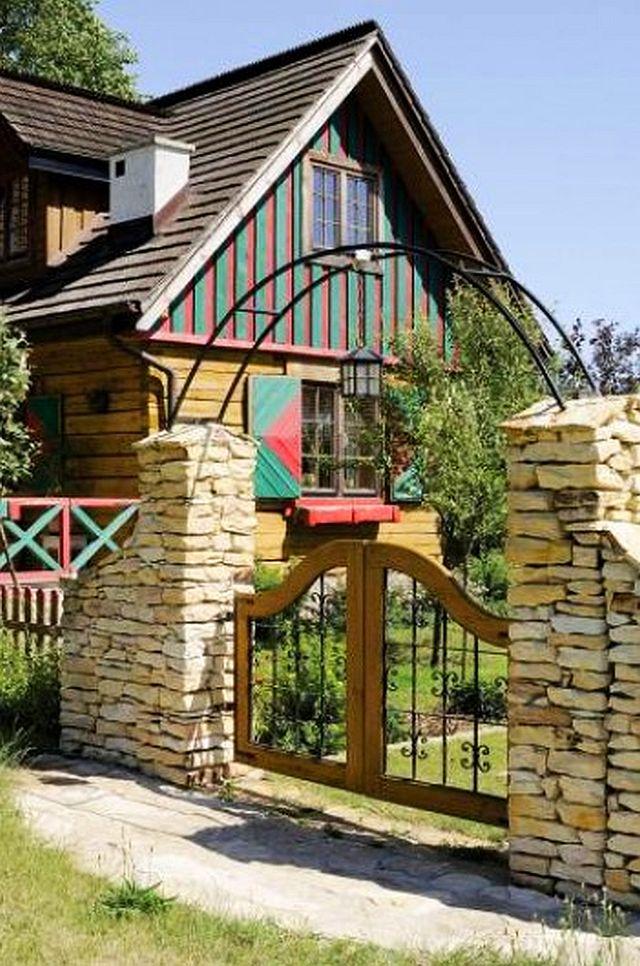 adelaparvu.com despre casa rustica cu gradina, Foto Weranda (2)