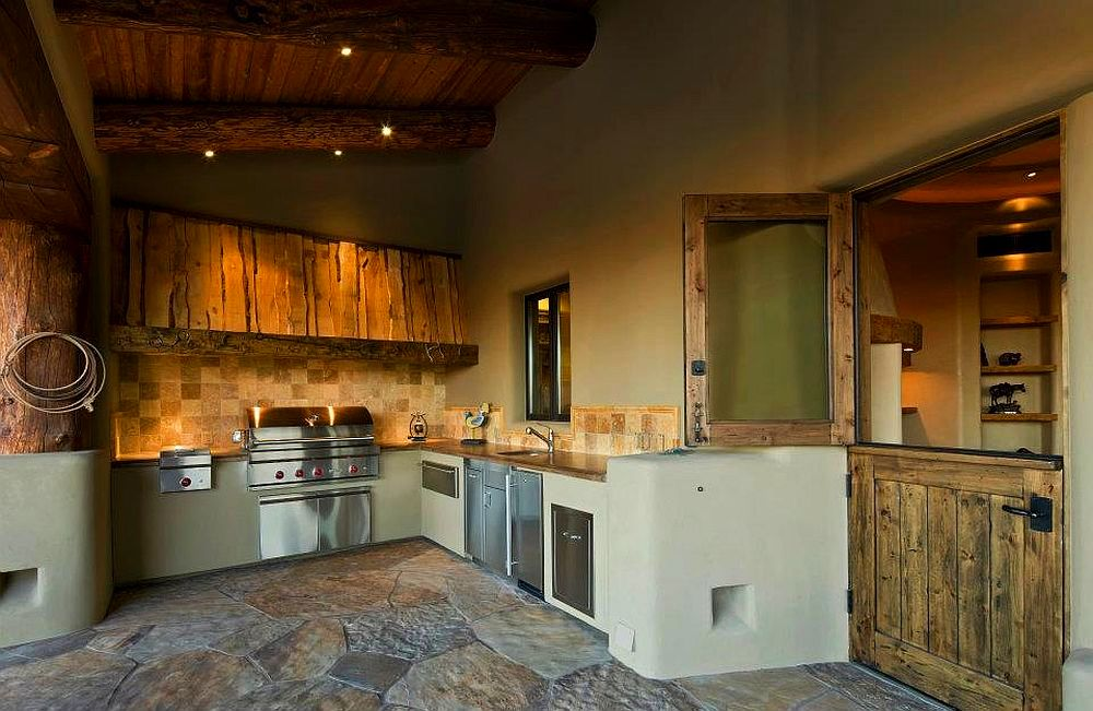 adelaparvu.com despre casa rustica in desert SUA, Wickenburg client residence, interior design Bess Jones Interiors (3)