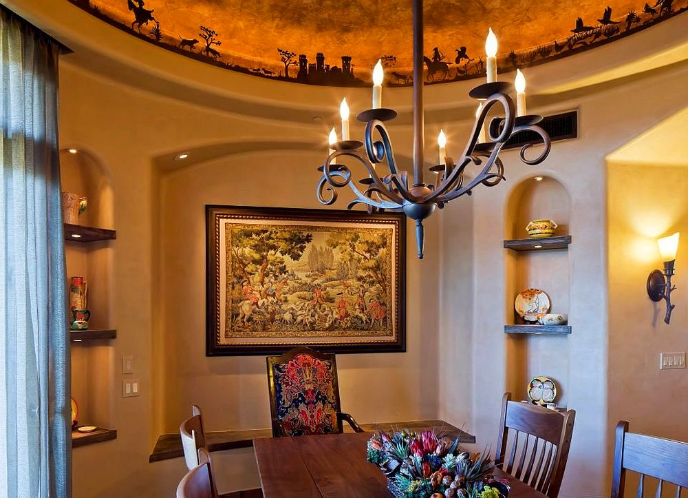 adelaparvu.com despre casa rustica in desert SUA, Wickenburg client residence, interior design Bess Jones Interiors (5)