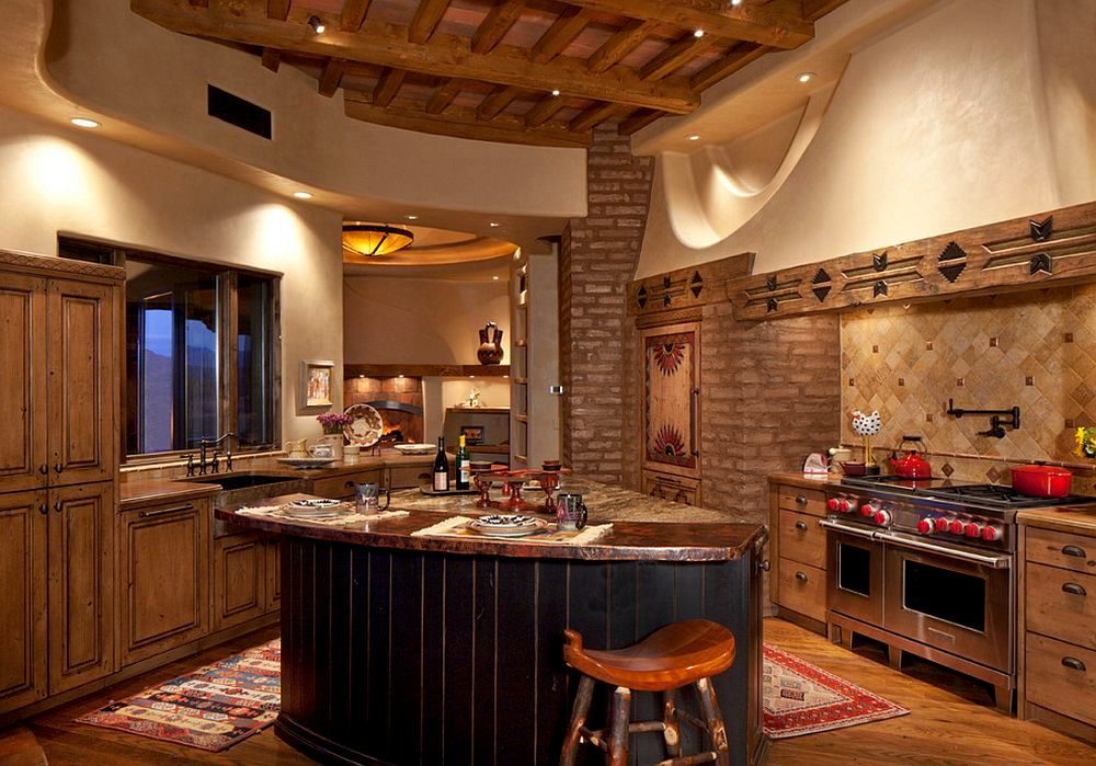 adelaparvu.com despre casa rustica in desert SUA, Wickenburg client residence, interior design Bess Jones Interiors (7)