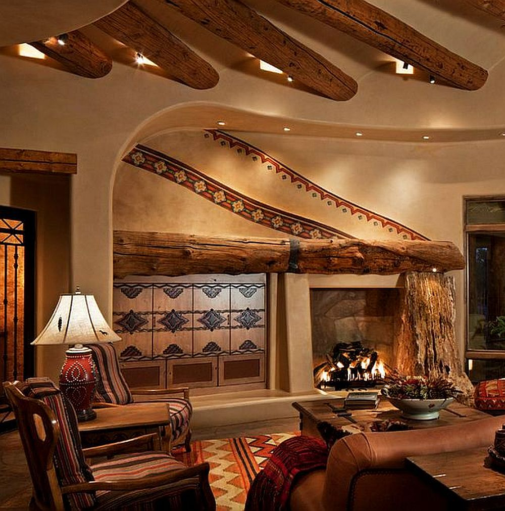 adelaparvu.com despre casa rustica in desert SUA, Wickenburg client residence, interior design Bess Jones Interiors
