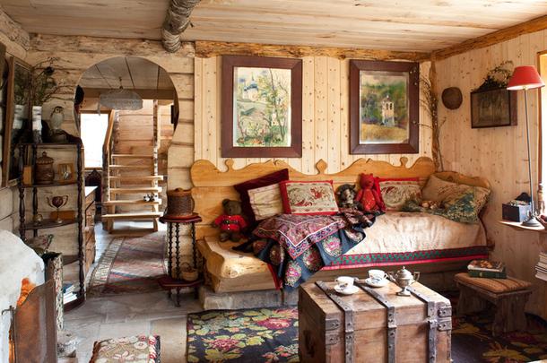 adelaparvu.com despre casa rustica ruseasca, proprietar  si designer Dominique de Rokmorel-Golitsyna, Foto Architectural Digest (14)