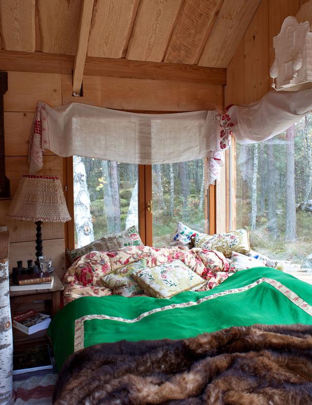adelaparvu.com despre casa rustica ruseasca, proprietar  si designer Dominique de Rokmorel-Golitsyna, Foto Architectural Digest (17)