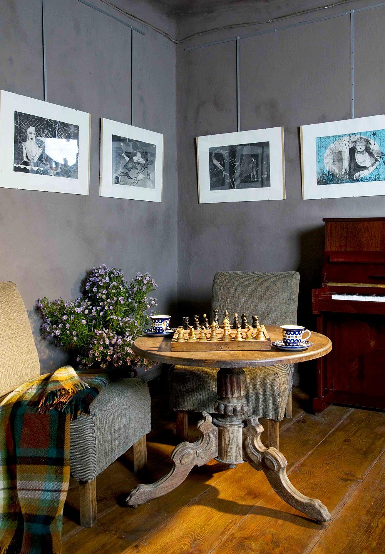 adelaparvu.com despre casa veche din lemn cu galerie de arta la tara, design Julita si Paul Sander, Foto Marek Szymanski (14)