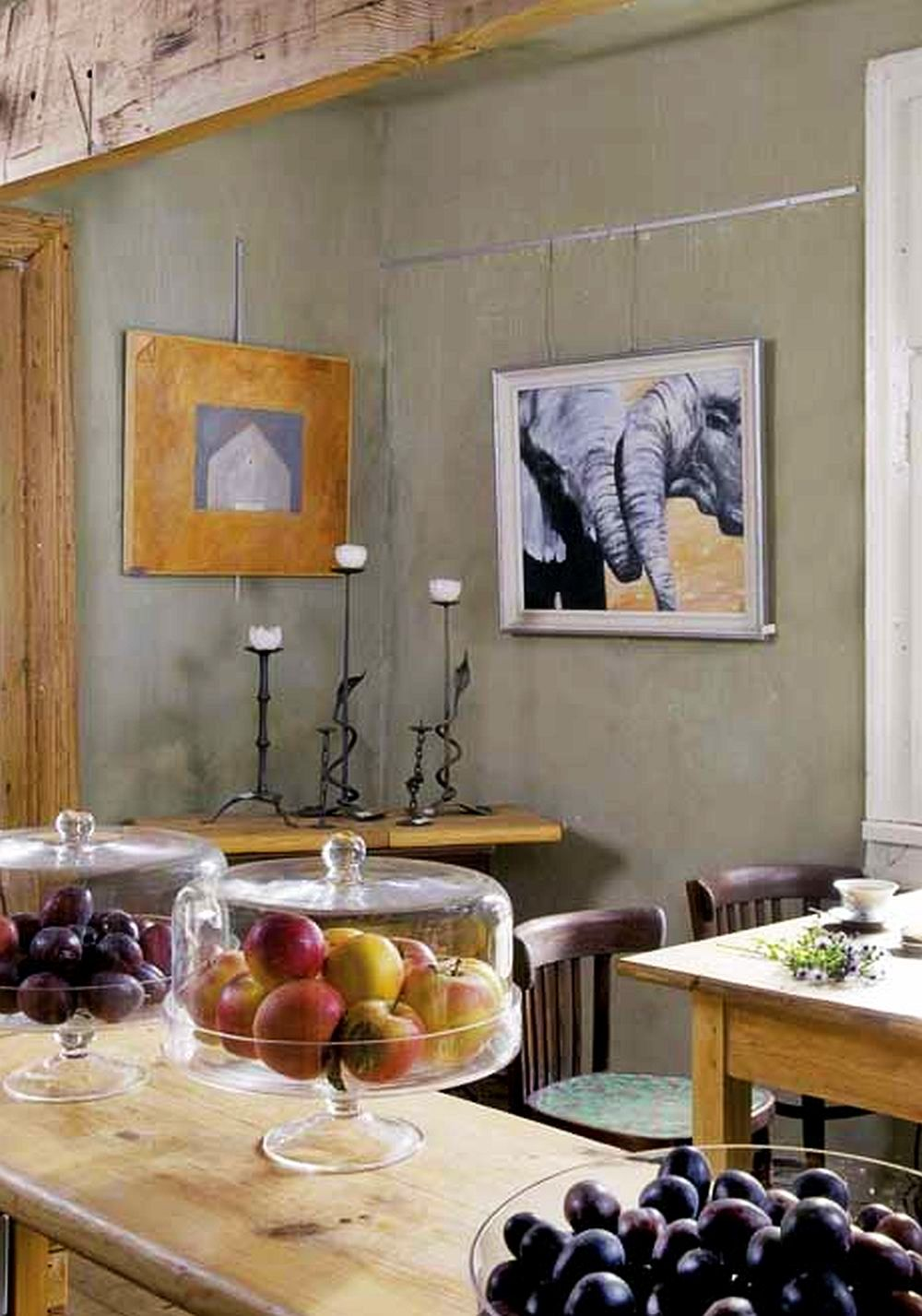 adelaparvu.com despre casa veche din lemn cu galerie de arta la tara, design Julita si Paul Sander, Foto Marek Szymanski (2)