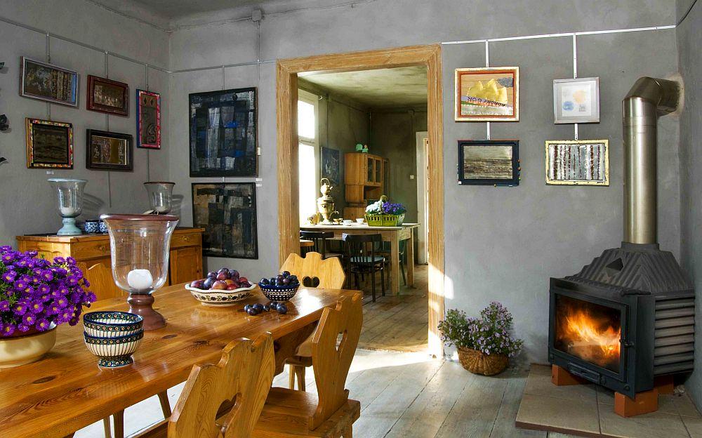 adelaparvu.com despre casa veche din lemn cu galerie de arta la tara, design Julita si Paul Sander, Foto Marek Szymanski (9)