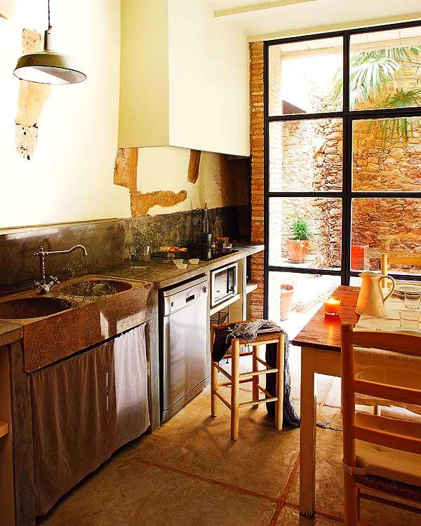 adelaparvu.com despre casa veche renovata cu ziduri de piatra (7)