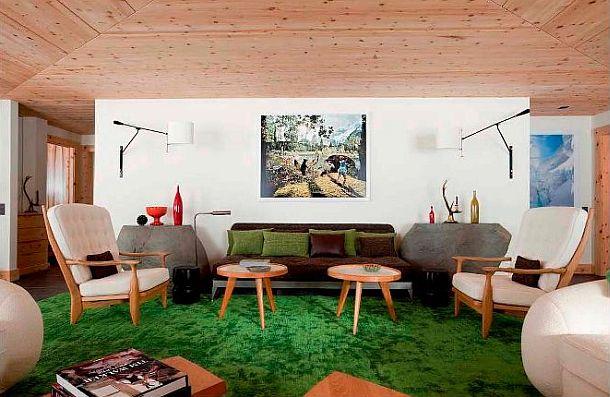 adelaparvu.com despre chalet Elvetia decor rustic modern, designer Tino Zervudachi  (1)