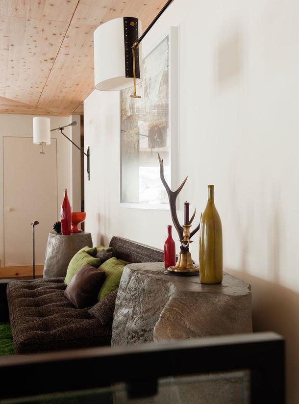adelaparvu.com despre chalet Elvetia decor rustic modern, designer Tino Zervudachi  (12)