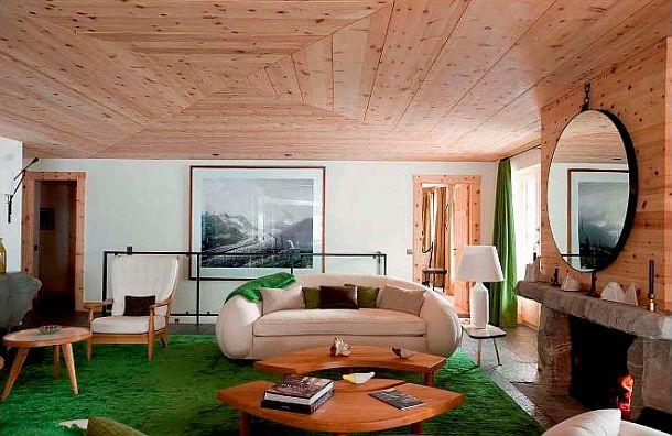 adelaparvu.com despre chalet Elvetia decor rustic modern, designer Tino Zervudachi  (2)
