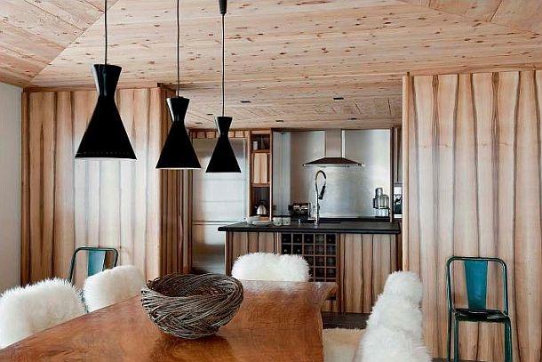 adelaparvu.com despre chalet Elvetia decor rustic modern, designer Tino Zervudachi  (3)