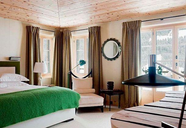adelaparvu.com despre chalet Elvetia decor rustic modern, designer Tino Zervudachi  (4)