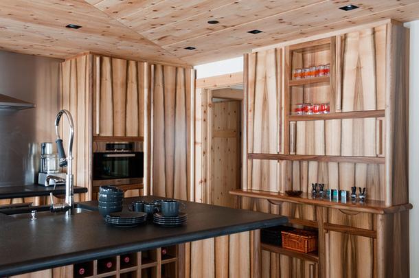 adelaparvu.com despre chalet Elvetia decor rustic modern, designer Tino Zervudachi  (5)