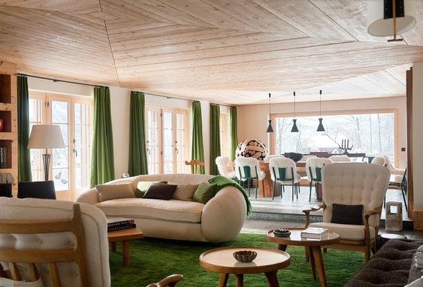 adelaparvu.com despre chalet Elvetia decor rustic modern, designer Tino Zervudachi  (7)