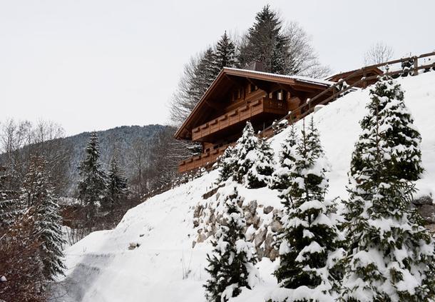 adelaparvu.com despre chalet Elvetia decor rustic modern, designer Tino Zervudachi  (8)