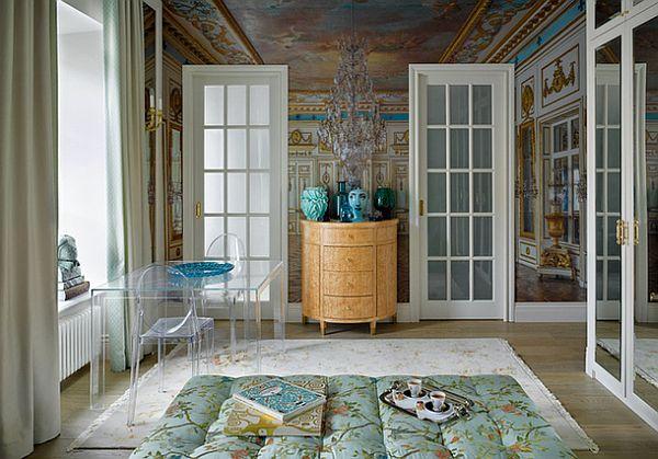 adelaparvu.com despre garsoniera 42 mp care arata ca un palat, arhitect Maria Matrosova, Foto AD Magazine (2)
