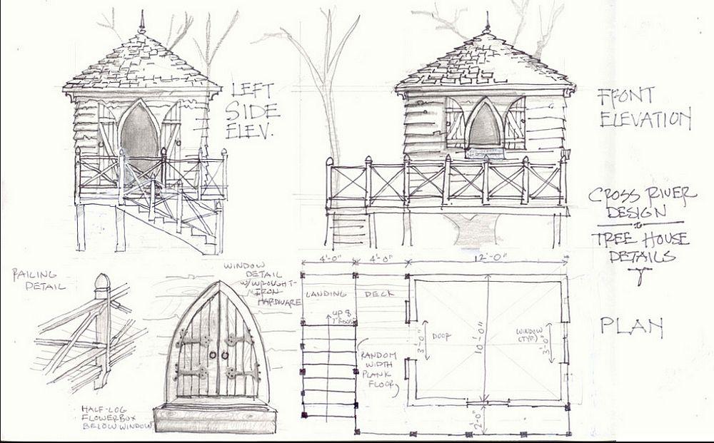 adelaparvu.com despre gradina cu iaz si casuta de lemn, Foto Cross River Design2
