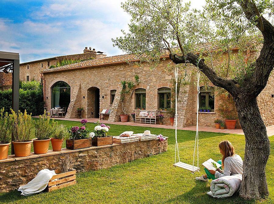 adelaparvu.com despre grajd transformat in casa, casa din piatra in Catalonia, Spania, Foto ElMueble (1)
