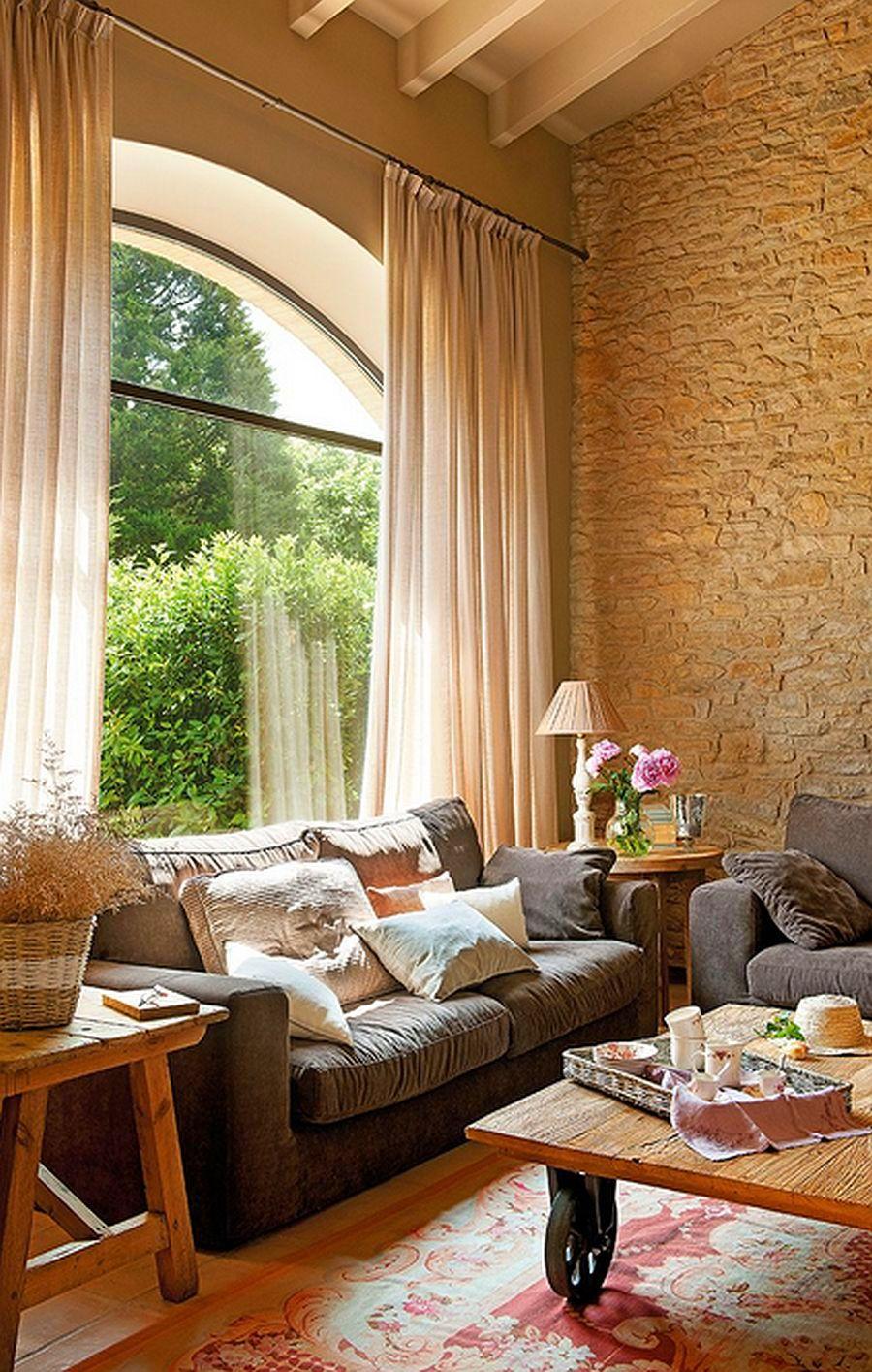 adelaparvu.com despre grajd transformat in casa, casa din piatra in Catalonia, Spania, Foto ElMueble (3)