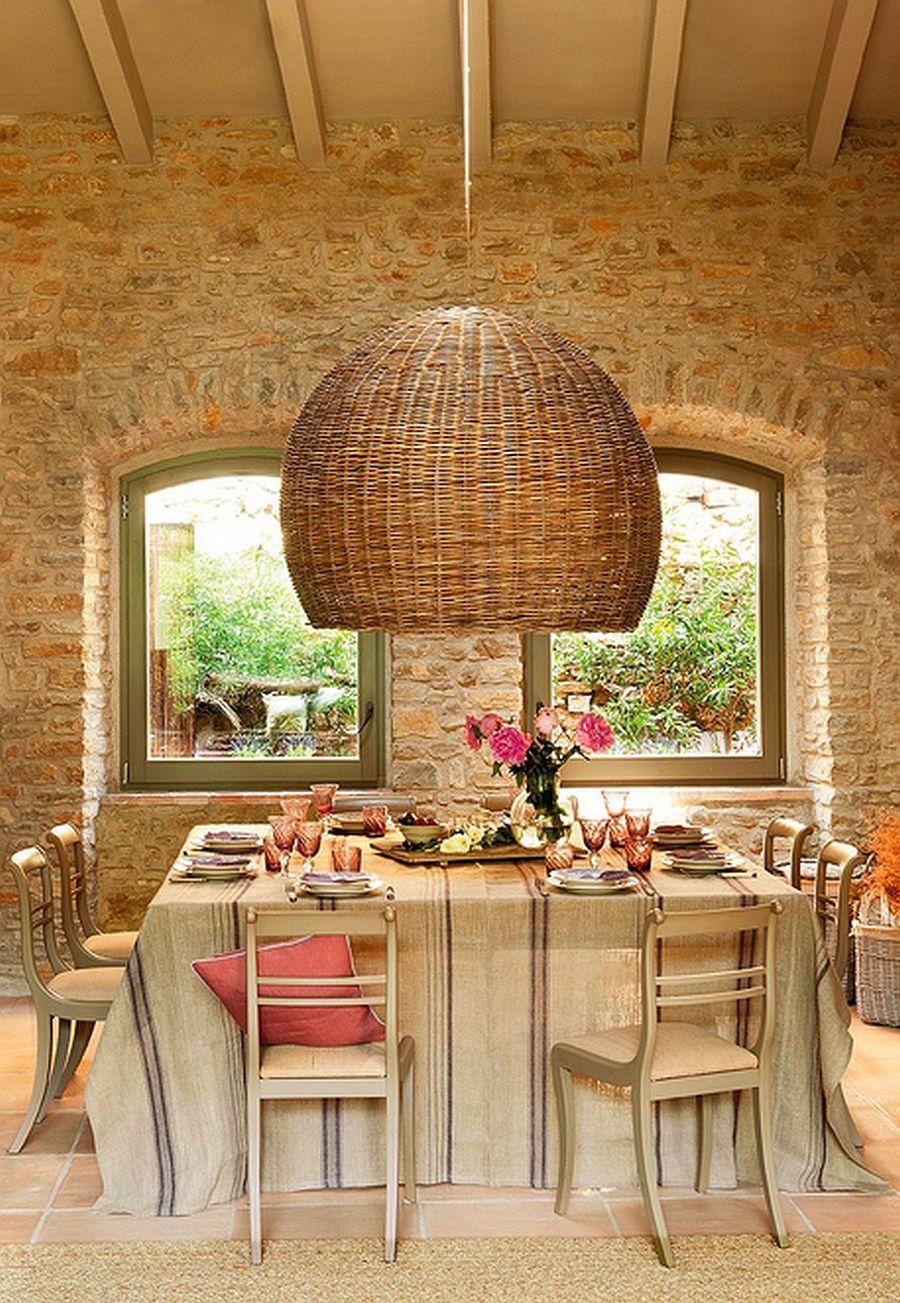 adelaparvu.com despre grajd transformat in casa, casa din piatra in Catalonia, Spania, Foto ElMueble (7)