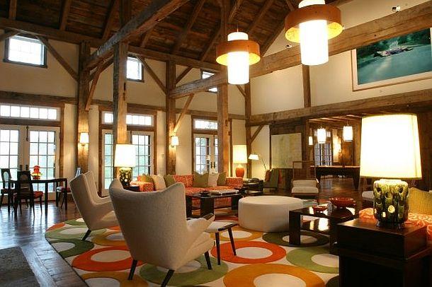 adelaparvu.com despre hambar transformat in locuinta contemporana, casa americana, design interior John Barman (10)