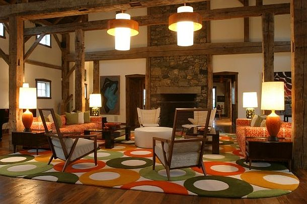 adelaparvu.com despre hambar transformat in locuinta contemporana, casa americana, design interior John Barman (11)