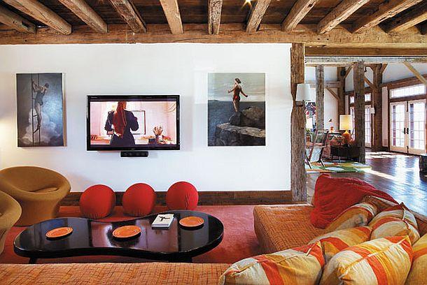 adelaparvu.com despre hambar transformat in locuinta contemporana, casa americana, design interior John Barman (13)