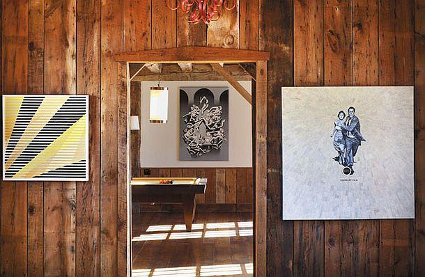 adelaparvu.com despre hambar transformat in locuinta contemporana, casa americana, design interior John Barman (14)