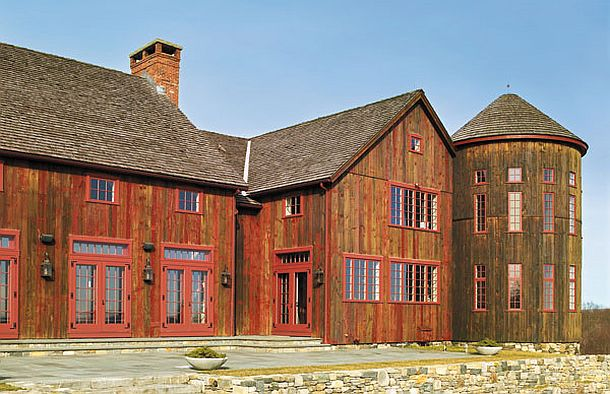 adelaparvu.com despre hambar transformat in locuinta contemporana, casa americana, design interior John Barman (15)