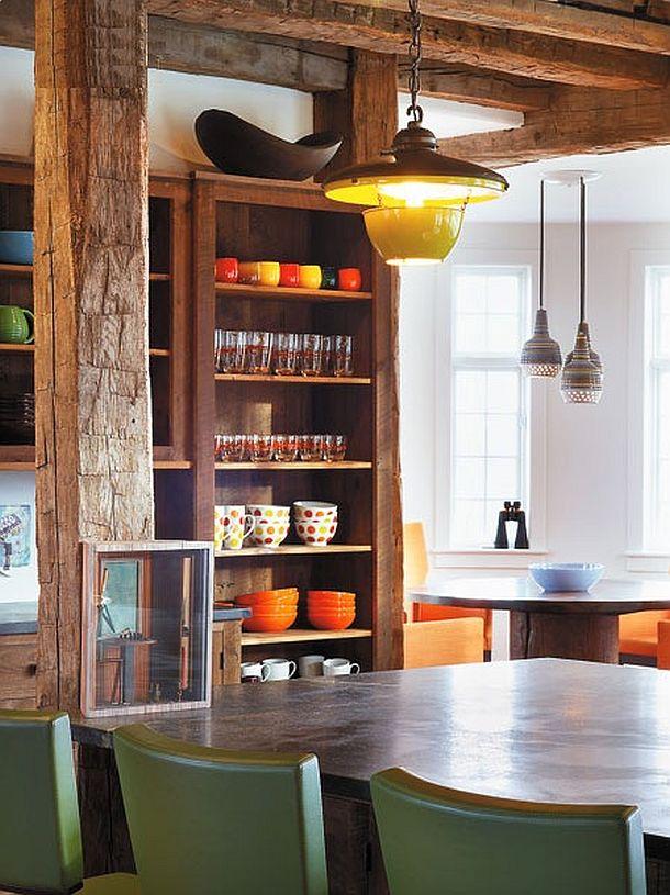 adelaparvu.com despre hambar transformat in locuinta contemporana, casa americana, design interior John Barman (17)