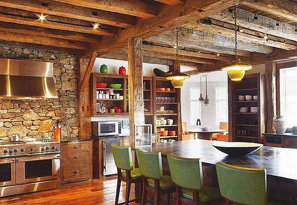 adelaparvu.com despre hambar transformat in locuinta contemporana, casa americana, design interior John Barman (18)