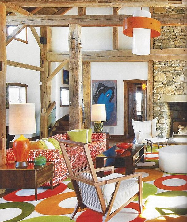 adelaparvu.com despre hambar transformat in locuinta contemporana, casa americana, design interior John Barman (19)