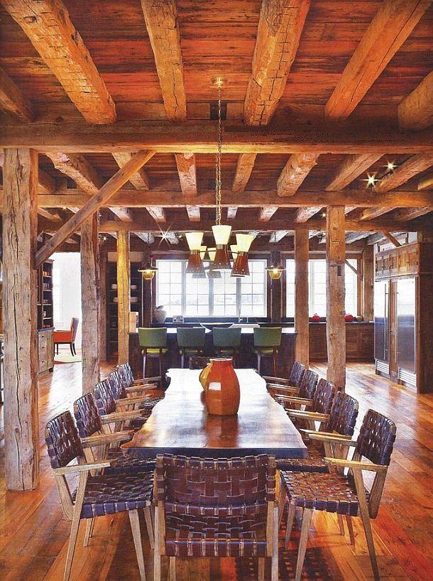 adelaparvu.com despre hambar transformat in locuinta contemporana, casa americana, design interior John Barman (21)