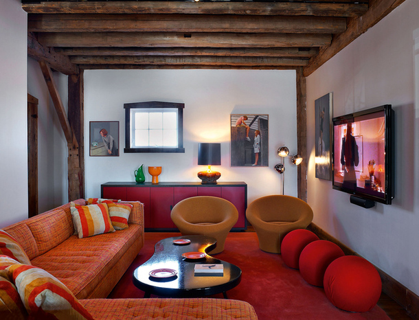 adelaparvu.com despre hambar transformat in locuinta contemporana, casa americana, design interior John Barman (3)