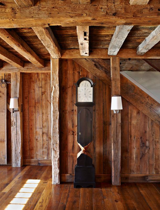 adelaparvu.com despre hambar transformat in locuinta contemporana, casa americana, design interior John Barman (4)