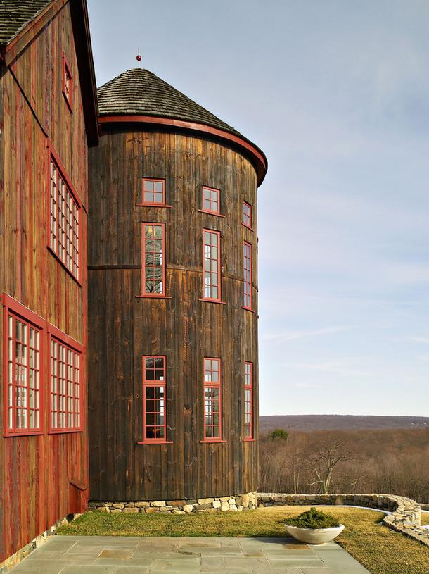 adelaparvu.com despre hambar transformat in locuinta contemporana, casa americana, design interior John Barman (8)