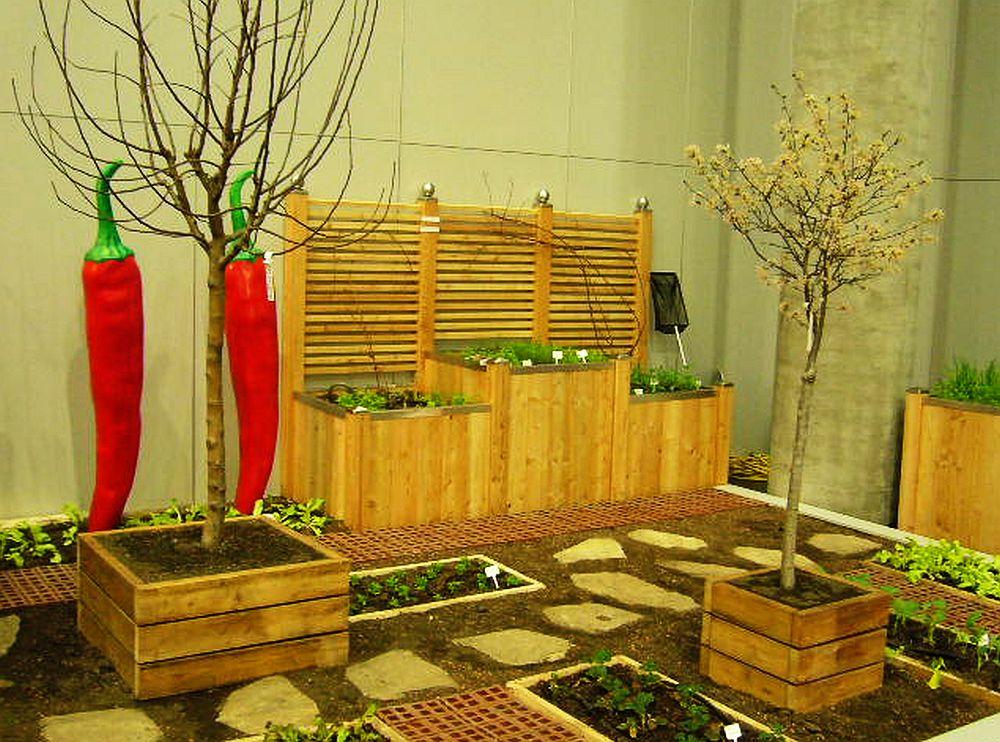 Sistem de jardiniere Timberra pentru interior
