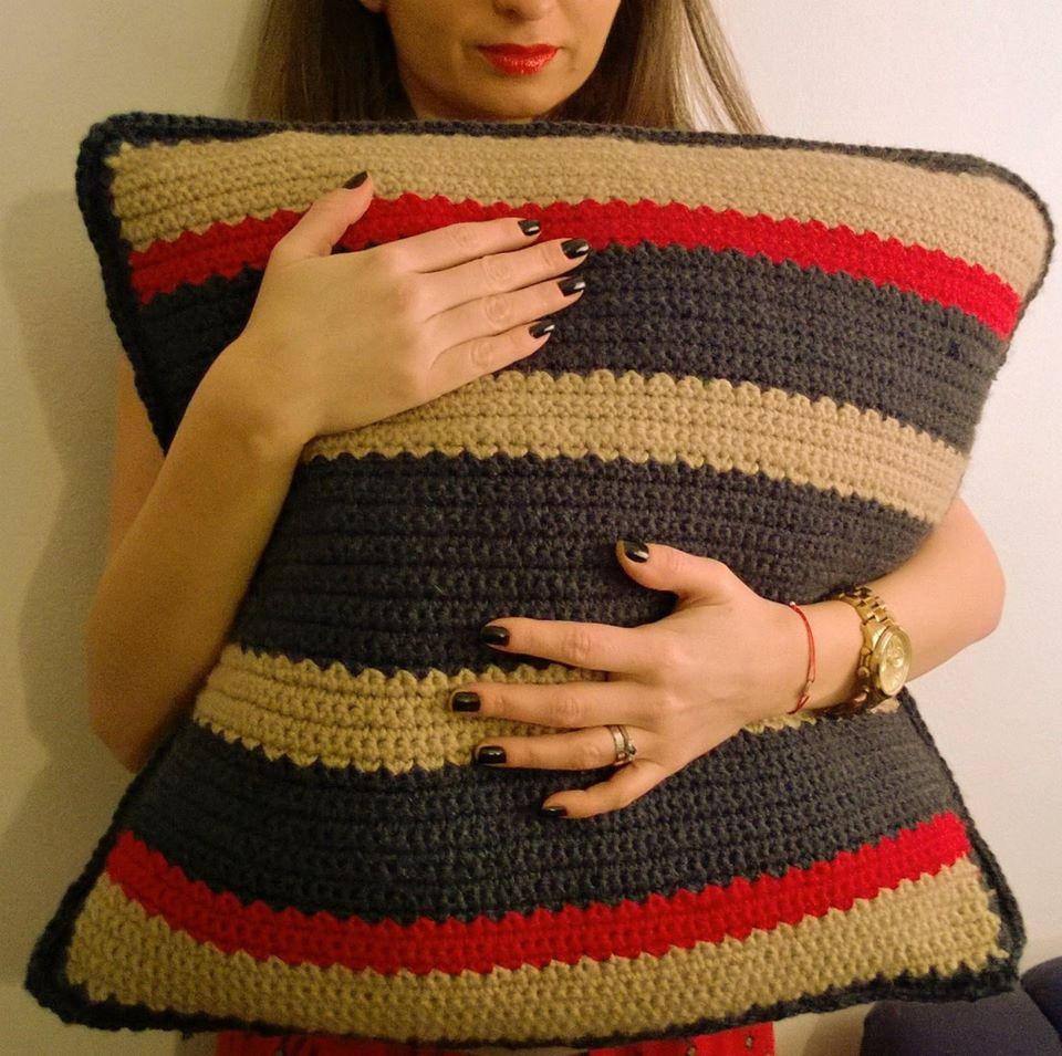 adelaparvu.com despre linii de lana, decoratiuni din lana, designer Cristina Danescu, Foto Diana Viu (12)