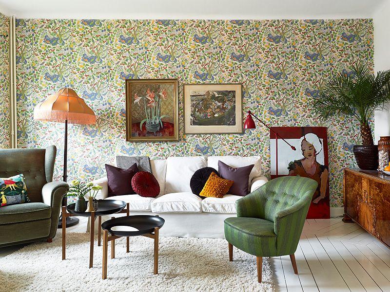 adelaparvu.com despre locuinta de trei camere cu parfum vintage, apartament Suedia, Foto Jonas Berg, Stadshem (10)