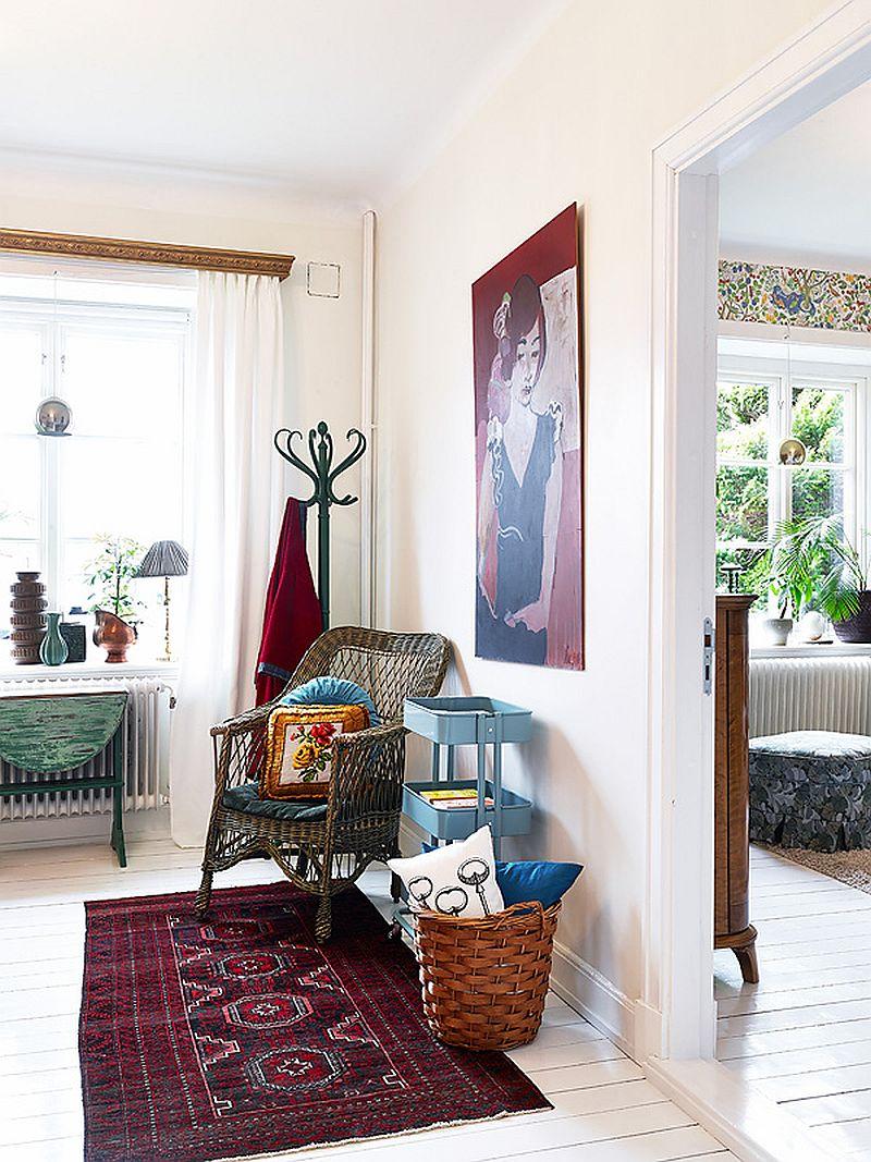 adelaparvu.com despre locuinta de trei camere cu parfum vintage, apartament Suedia, Foto Jonas Berg, Stadshem (13)