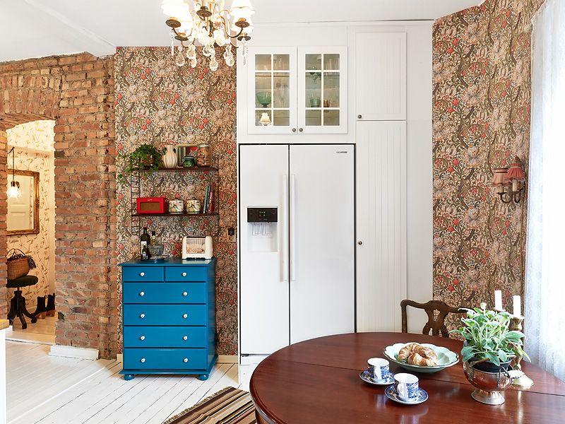 adelaparvu.com despre locuinta de trei camere cu parfum vintage, apartament Suedia, Foto Jonas Berg, Stadshem (17)